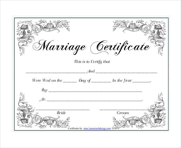 Pin On Certificate Design Inside Best Blank Marriage Certificate Template