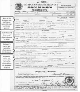 Pin On Certificate Template in Fresh Death Certificate Translation Template