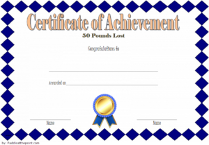 Pin On Fitness Gift Certificate Ideas For Fresh Weight Loss Certificate Template Free