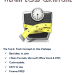 Pin On Fitness Gift Certificate Ideas In Unique Weight Loss Certificate Template Free 8 Ideas