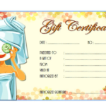 Pin On Free Spa Gift Certificate Templates For Word With Regard To New Free Spa Gift Certificate Templates For Word