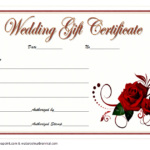 Pin On Gift Certificate Template Word intended for Unique Free Wedding Gift Certificate Template Word 7 Ideas