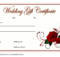 Pin On Gift Certificate Template Word within Free Editable Wedding Gift Certificate Template