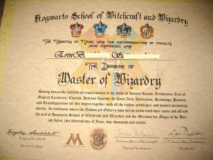 Pin On Hogwarts Graduation for Harry Potter Certificate Template