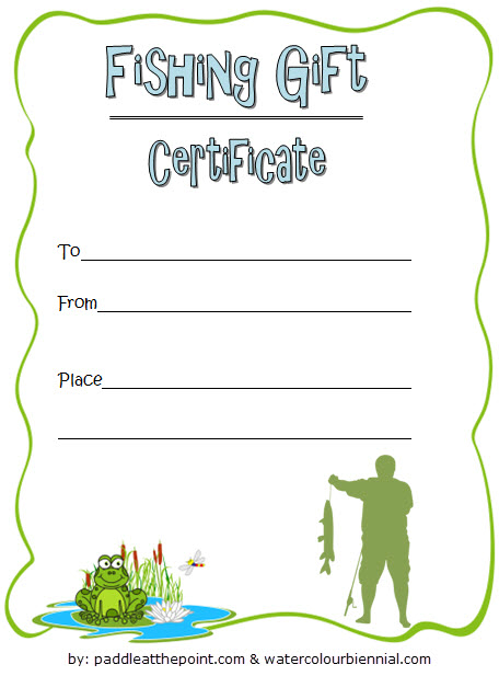 Pin On Holiday Gift Certificate Template with regard to Quality Fishing Gift Certificate Template