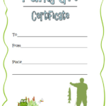 Pin On Holiday Gift Certificate Template Within Best Fishing Gift Certificate Editable Templates
