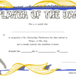 Pin On Malir Lions Within Player Of The Day Certificate Template Free