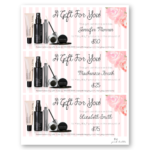 Pin On Mary Kay Inside Mary Kay Gift Certificate Template