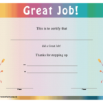 Pin On Outstanding Award With Regard To Best Great Work Certificate Template