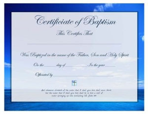 Pin On Prayers, Quotes, Scripture, Printables with Best Baptism Certificate Template Word Free