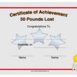 Pin On Printables For Fresh Weight Loss Certificate Template Free