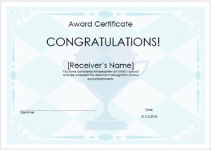 Pin On Sampleformats intended for Quality Winner Certificate Template Free 12 Designs