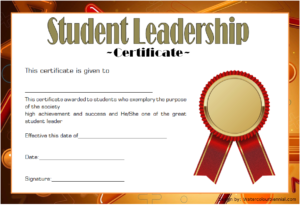 Pin On Student Leadership Certificates with regard to Fresh Student Leadership Certificate Template Ideas
