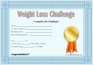 Pin On Winner Certificate Template Word Free throughout Weight Loss Certificate Template Free 8 Ideas