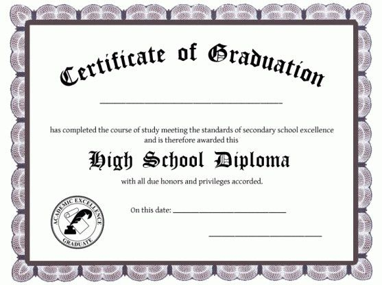 Pinamelia Bates On Diploma | High School Diploma with regard to Free Printable Best Wife Certificate 7 Designs