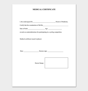 Pinchris Mays On My Saves | Doctors Note Template Intended For Australian Doctors Certificate Template