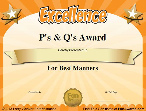Pincookie Oquendo On Cookie | Funny Teacher Awards regarding Free Funny Award Certificate Templates For Word