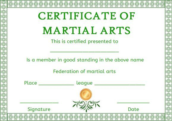 Pindemplates | Small Business Dig On Certificates with regard to Fresh Martial Arts Certificate Templates