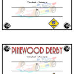Pinewood Derby Competetion Fastest Car Prizes   Diy Trophies Throughout Unique Pinewood Derby Certificate Template