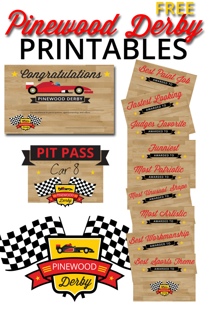 Pinewood Derby Printables – The Gospel Home with Unique Pinewood Derby Certificate Template