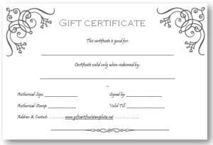 Pinget Certificate Templates On Beautiful Printable Gift with Massage Gift Certificate Template Free Printable