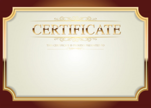 Pinjandy Tubo On Graphic Design Certificate Templates Within for High Resolution Certificate Template