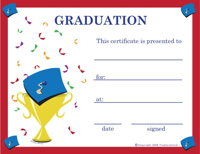 Pinkunno Basics On Projects To Try | Graduation intended for Unique Certificate Of School Promotion 10 Template Ideas
