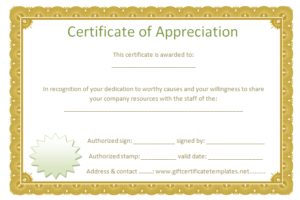 Pinmange Lazaro On Certificate Of Appreciation Templates pertaining to Best Certificate Of Appreciation Template Free Printable