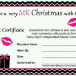 Pinrebecca Medley On Mary Kay | Mary Kay Gifts, Mary Kay Intended For Mary Kay Gift Certificate Template