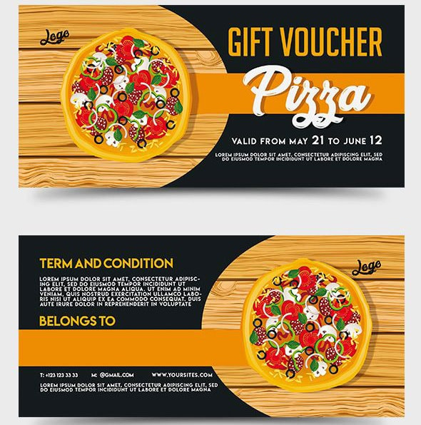 Pizza Gift Certificate Template 2 - Best Templates Ideas For throughout Pizza Gift Certificate Template