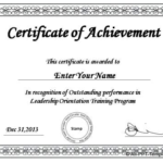 Powerpoint Award Certificate Template (7) – Templates Throughout Best Award Certificate Template Powerpoint