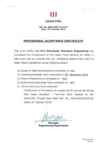 Practical Completion Certificate Template Uk (4) – Templates with Quality Practical Completion Certificate Template Uk
