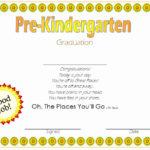 Pre K Certificate Templates New Free Printables Preschool With Unique 10 Free Editable Pre K Graduation Certificates Word Pdf