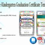 Preschool Graduation Certificate Templates New 10 Free Throughout Unique 10 Free Editable Pre K Graduation Certificates Word Pdf
