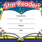 Print Accelerated Reading Certificate   Star Reader In Star Reader Certificate Template Free