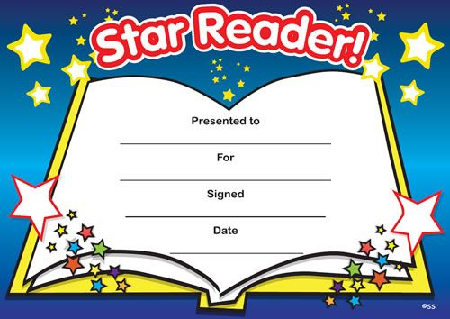 Print Accelerated Reading Certificate   Star Reader throughout Best Star Reader Certificate Template