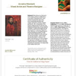 Print Art Photography: Certificate Of Authenticity – Print Regarding Fresh Photography Certificate Of Authenticity Template