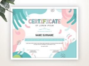 Printable Certificate Template Editable Certificate Template for Best Travel Certificates 10 Template Designs 2019 Free