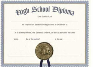 Printable Certificate Templates | High School Diploma, Free inside Ged Certificate Template