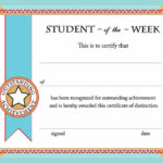 Printable Certificates & Awards   Calloway House   Student with regard to Student Of The Week Certificate Templates