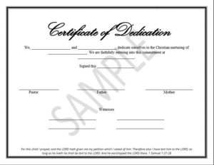 Printable Child Dedication Certificate Templates pertaining to Quality Baby Dedication Certificate Templates