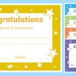 Printable Congratulations Certificate Template Inside Fresh Superlative Certificate Template