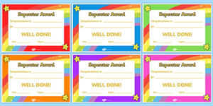 Printable Congratulations Certificate Template intended for Job Well Done Certificate Template 8 Funny Concepts