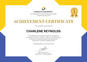 Printable Free Pdf School Blank Certificate Template Free In Free School Certificate Templates