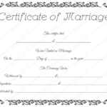 Printable Marriage Certificate Template – Dotxes | Marriage Inside Best Blank Marriage Certificate Template
