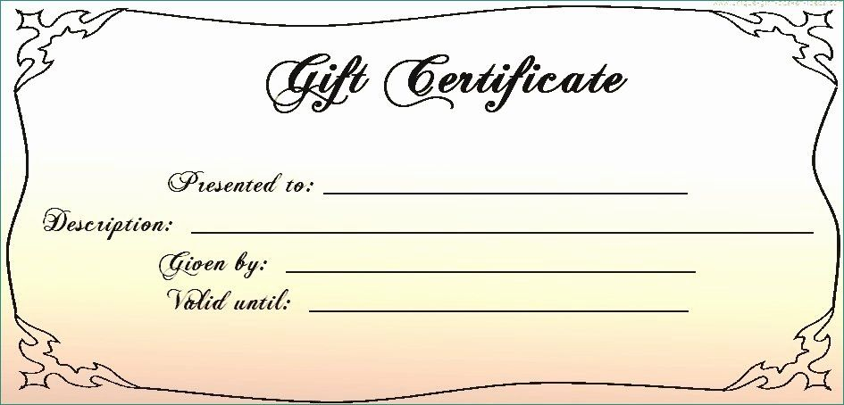 Printable Massage Gift Certificates Exclusive Gift Card in New Massage Gift Certificate Template Free Printable