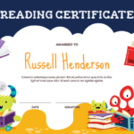Printable Monster Reading Award Certificate Template Within Quality Reading Achievement Certificate Templates