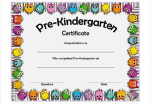 Printable Pre K Graduation Certificates – Guve.securid.co with regard to Fresh Certificate For Pre K Graduation Template
