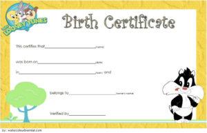 Printable Stuffed Animal Birth Certificate Template Free 3 with Fresh Stuffed Animal Birth Certificate