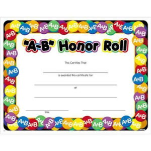 Printed Certificates, Find A Printed Certificate At pertaining to Quality Honor Roll Certificate Template Free 7 Ideas